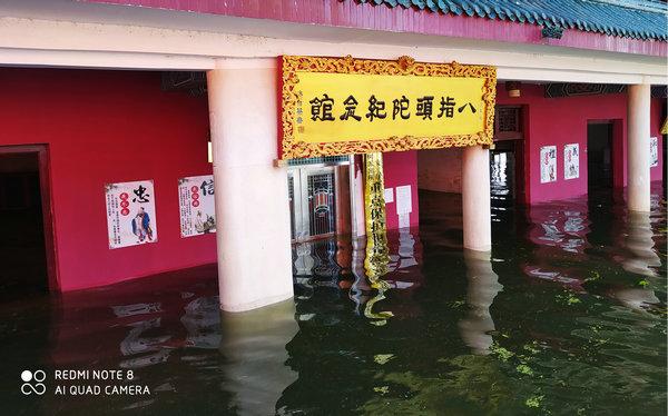圣辉大和尚前往湘阴法华寺救灾 (2).jpg